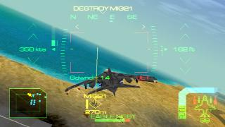 Screenshot Thumbnail / Media File 1 for Eagle One - Harrier Attack [NTSC-U]